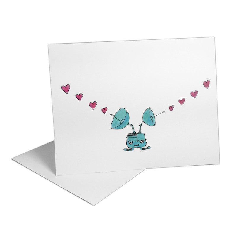 Love Machine Robots Notecards (Set of 8)