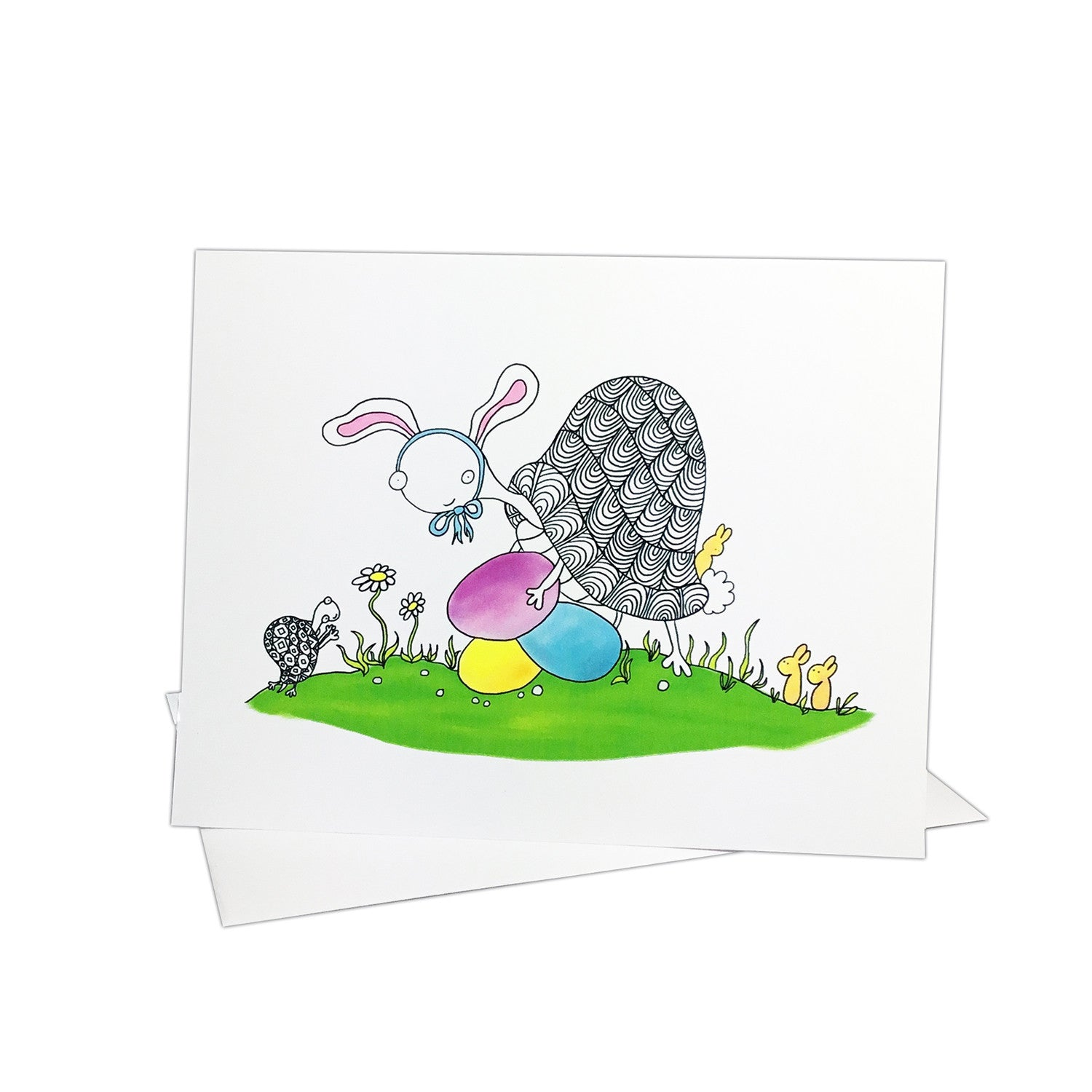 Turtles in Springtime Notecards (Set of 8)