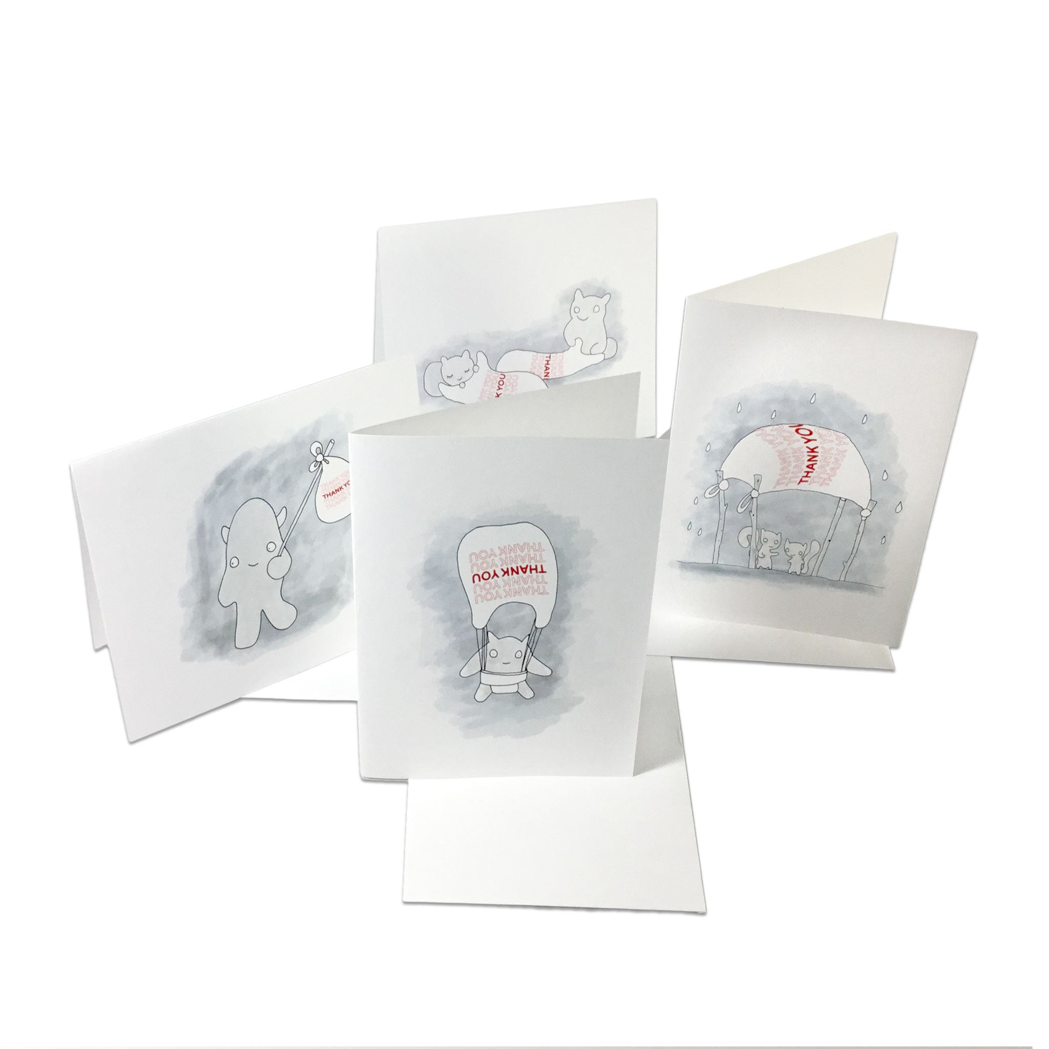 ThankYouThankYou Notecards - Vol. 1 and 2 (Set of 16)