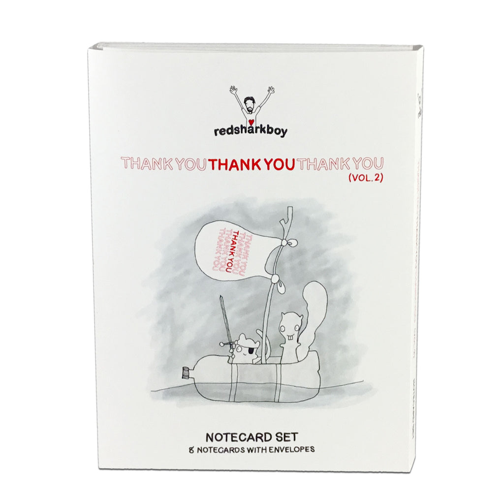 ThankYouThankYou Notecards - Vol. 2 (Set of 8)