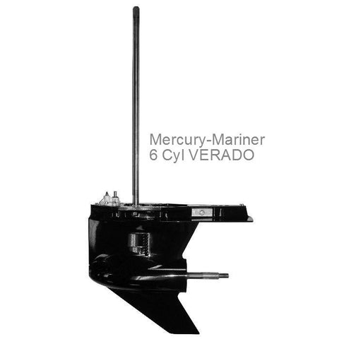 Mercury Outboard Lower Unit 6 cyl. VERADO 200, 275, 300 hp 2005-2015