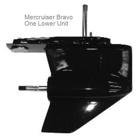 Mercruiser Sterndrive Lower Unit BRAVO 1 1995-2015
