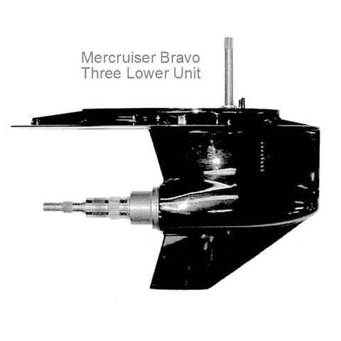 Mercruiser Sterndrive Lower Unit, BRAVO 3 1995-2012