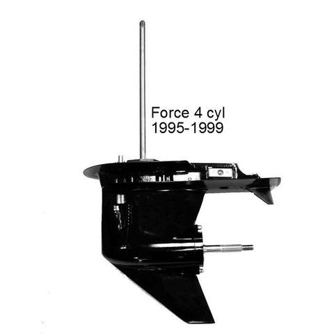 Force Outboard Lower Unit, 4 Cyl. 120 HP, 1995-1999
