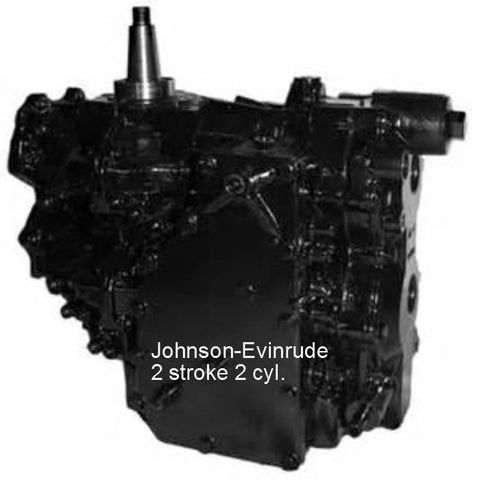 Johnson-Evinrude 40-55 HP 2-Cyl. Remanufactured Powerhead  1989-2005
