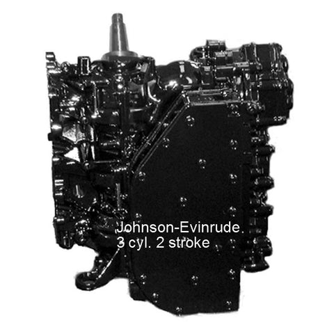 Johnson-Evinrude Remanufactured Powerhead 3-Cyl. 50-70 HP 1989-2001
