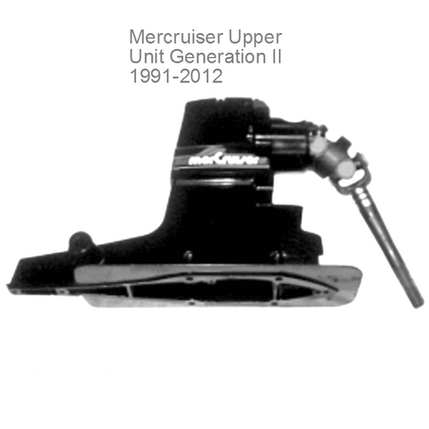 Mercruiser Sterndrive Upper Unit 4 - 6 - 8 cyl. 1991-2015 Alpha 1 Gen 2