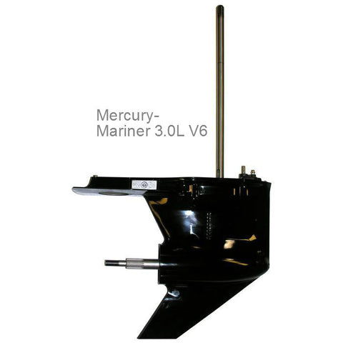 Mercury Outboard Lower Unit V6 3.0L, 200, 225, & 250 hp, 1994-2015 standard & counter rotation