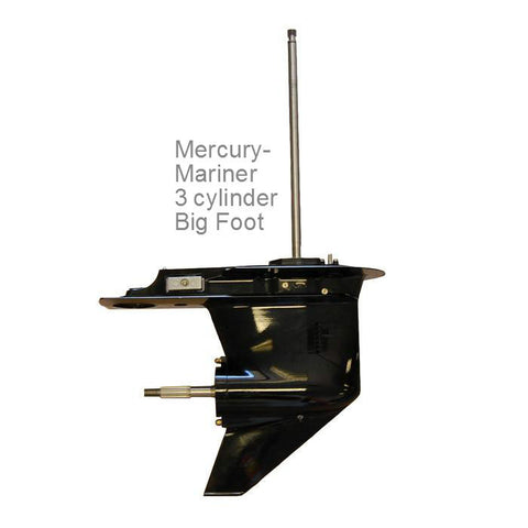 Mercury-Mariner Lower Unit 3-Cyl. 70-90 HP 3 Jaw, 6 Jaw OPTIMAX 1987-2014