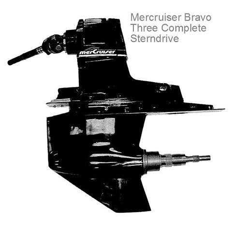 Mercruiser Bravo Three Sterndrive Complete Unit 1995-2012 Remanufactured