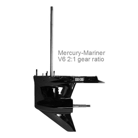 Mercury-Mariner Lower Unit V6, 2:1 ratio, 135, 150, & 135 hp DFI 1979-2001