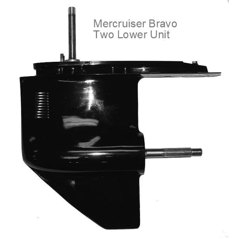 Mercruiser Sterndrive Lower Unit BRAVO 2 1995-2015