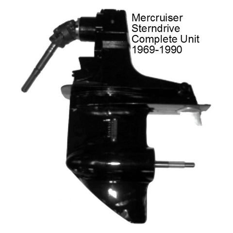 Mercruiser Sterndrive Complete Unit 4/6/8 Cyl. 1969-1990 New