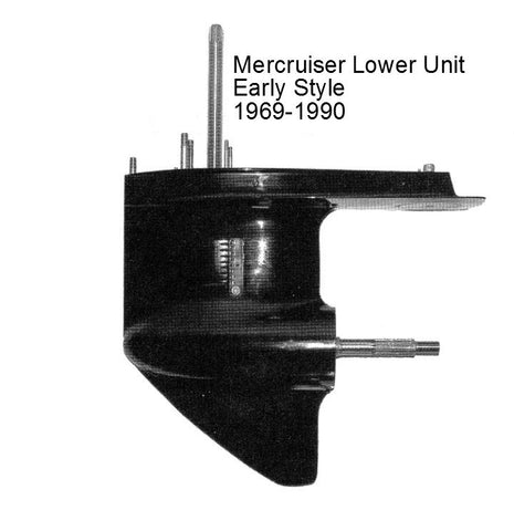 Mercruiser Sterndrive Lower Unit 4/6/8 Cyl. 1969-1990