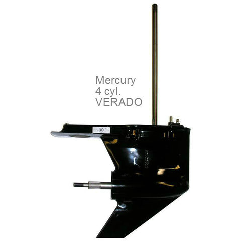 Mercury Outboard Lower Unit 135, 150, 175, & 200 HP 4-Cyl. VERADO New 2006-2015