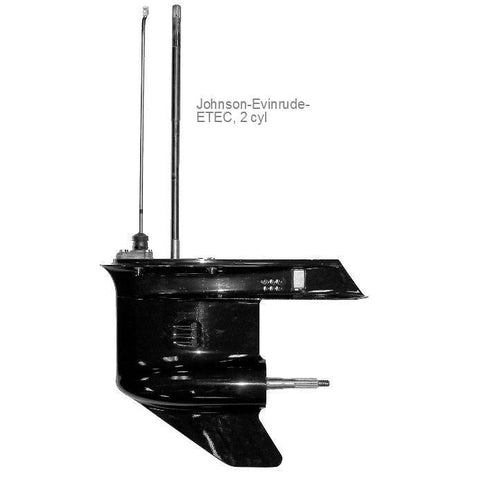 Evinrude E-TEC  Lower Unit 2 cyl.  40-50-60 hp 2004-2015