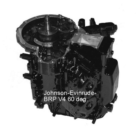 Johnson-Evinrude V4 60-Deg. CARB Remanufactured Powerhead 90, 115 HP 1995-2006