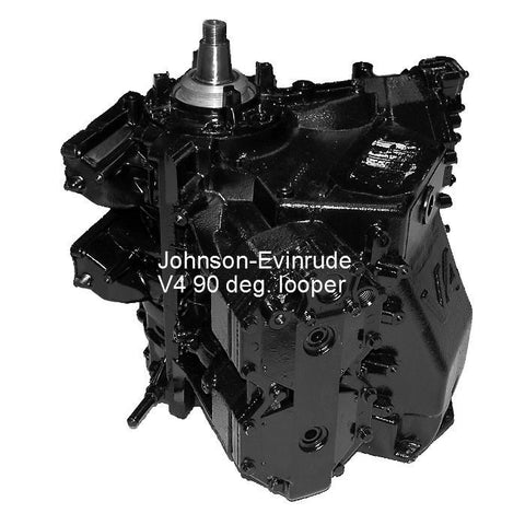 Johnson-Evinrude Outboard V4 90-Deg. Looper Powerhead  including Sea Drive 120-140 HP 1985-1991