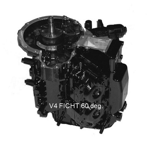 Johnson-Evinrude-BRP FICHT Remanufactured Powerhead V4  60-Deg, 90-115 HP