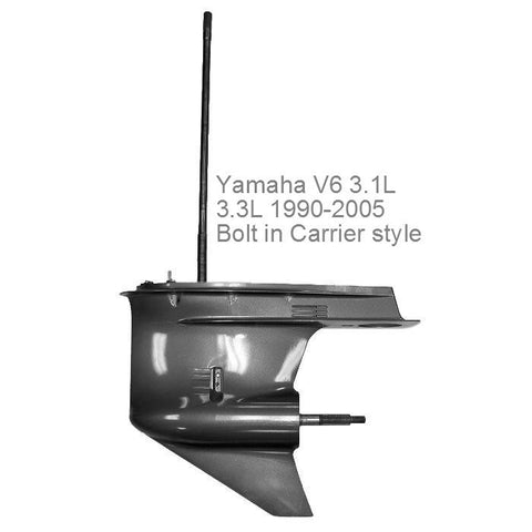 Yamaha Outboard Lower Unit V6 2-stroke 200/225/250 V-Max HP 3.1L/3.3L Bolt-In Carrier Style 1990-2005