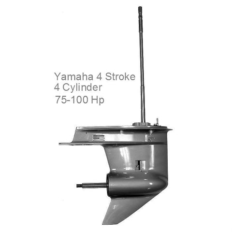 Yamaha Outboard Lower Unit New 4-Cyl. 4-Stroke 75-100 HP 1999-2015