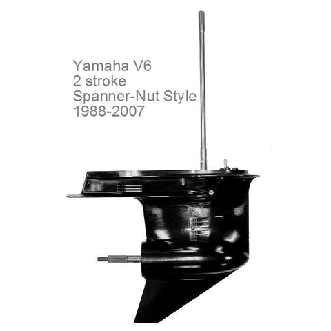 Yamaha Outboard Lower Unit V6 2-stroke Spanner Nut Style 150/175/200 HP 1988-2007