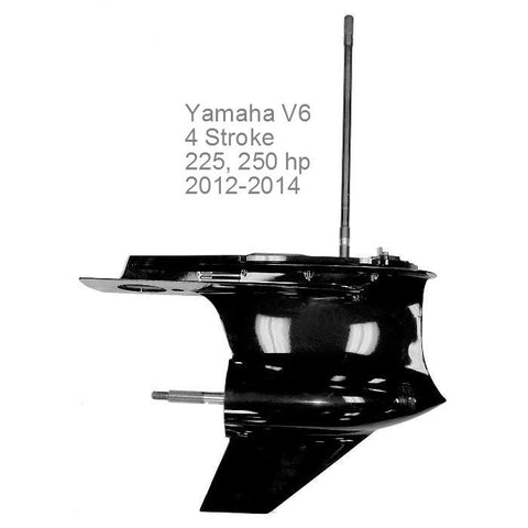 Yamaha Lower Unit V6 4-Stroke 200/225/250 HP 2012-2014 Long Shaft