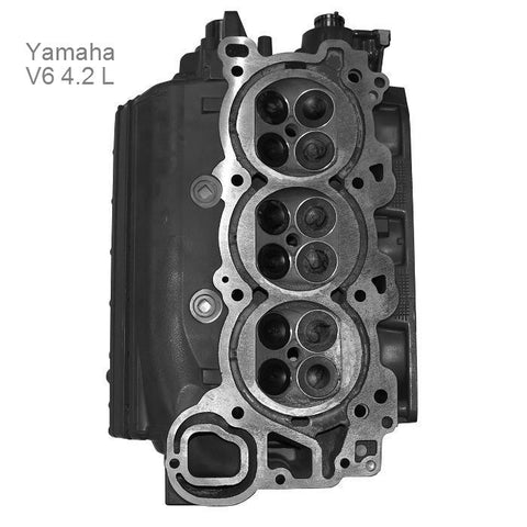 Yamaha Cylinder Head 4.2L & SHO V6 4-Stroke 200-300HP 2010-Up Re-manufactured