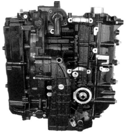 Mercury-Mariner Remaufactured 4-Cyl. 4-Stroke Longblock 115 HP 2007-2014