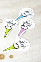 Printable Purim Horn Gift Tags