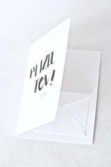 Mazel Tov Card with Money Holder - Jewish Greeting Card