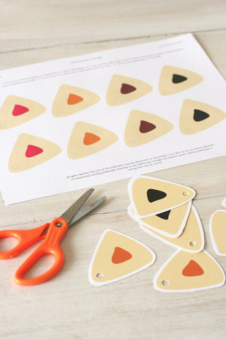 Printable Purim Hamentashen Gift Tags