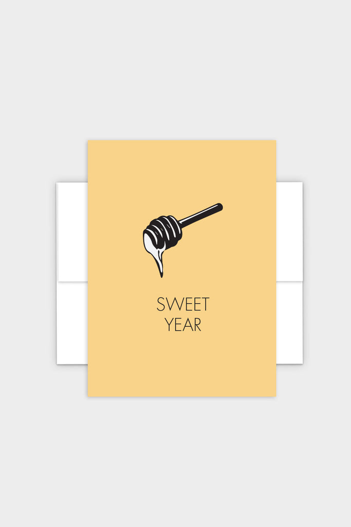 Sweet Year - Rosh Hashanah Greeting Card