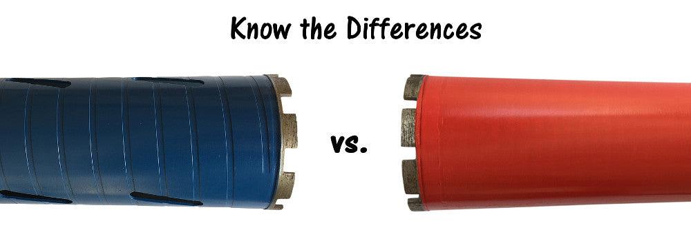 Wet vs Dry - Choose the Right Core Drilling Tool – EDiamondTools