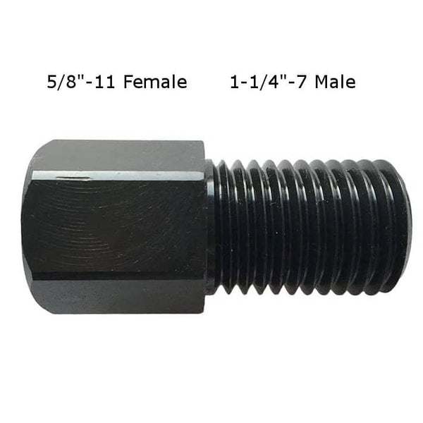 "1-1/4""-7 Male to 5/8""-11 Female Adapter for Core Drilling"