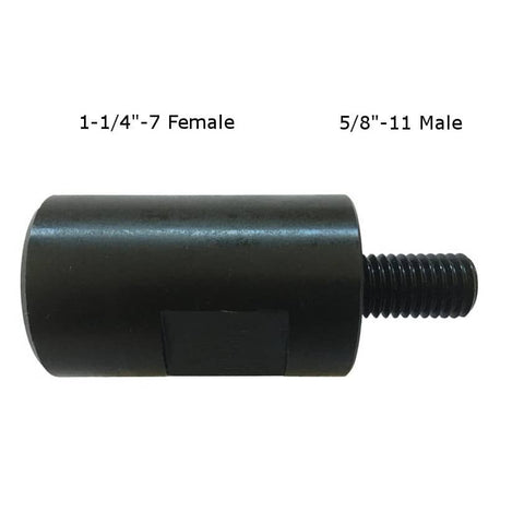 "5/8"" 11 Male 1-1/4"" 7 Female Adapter for Core Drilling"