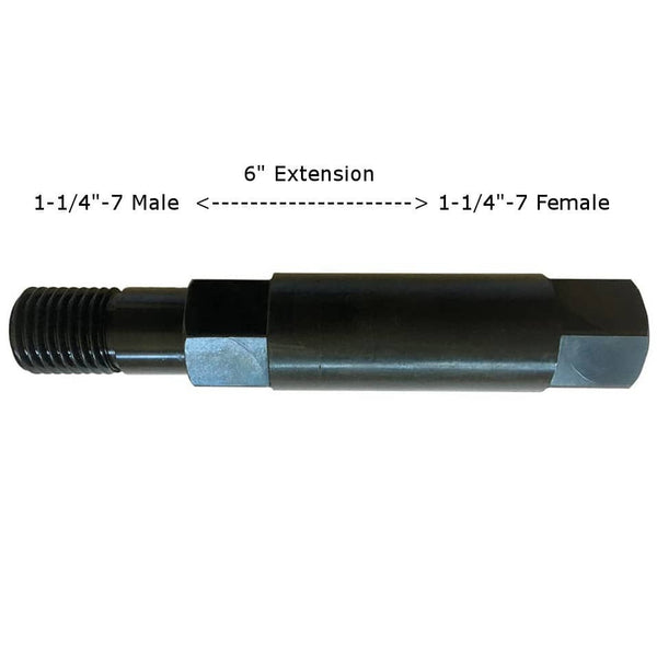 "1-1/4""-7 Male Female Extension for Core Drilling"