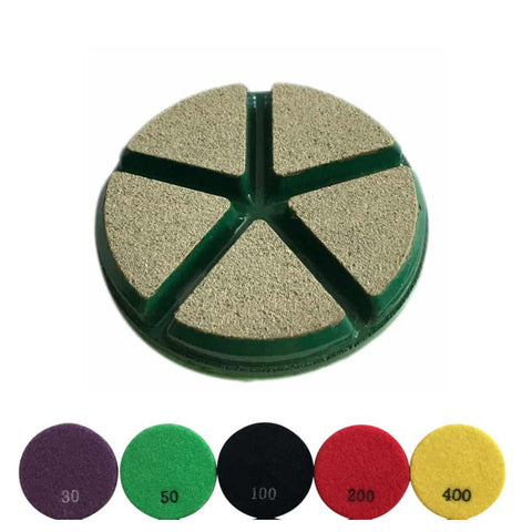 Ceramic Transitional Diamond Grinding Pads