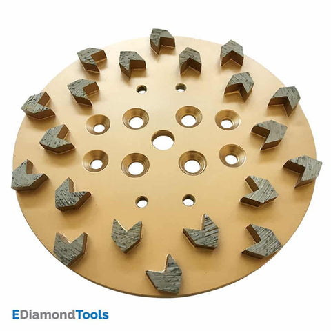 "10"" Diamond Grinding Disc Plate for Floor Grinders"