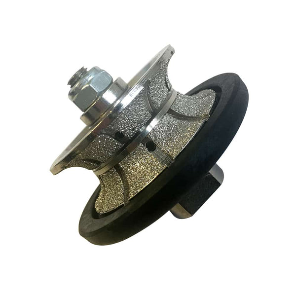 Diamond Hand Profile Wheel for Polishers and Angle Grinders