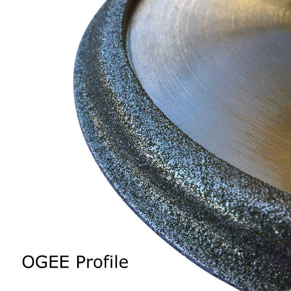 Shape F Ogee Diamond Profiling Wheel