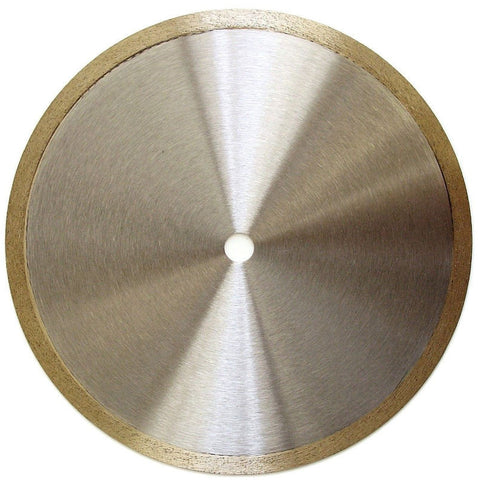 Continuous Rim Diamond Saw Blades for Tile