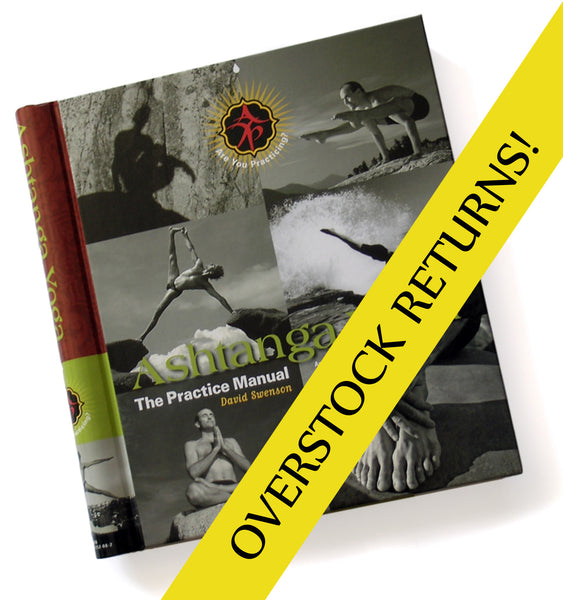 Ashtanga Yoga - The Practice Manual (ENGLISH VERSION) - OVERSTOCK RETURNS - Ashtanga Yoga Productions