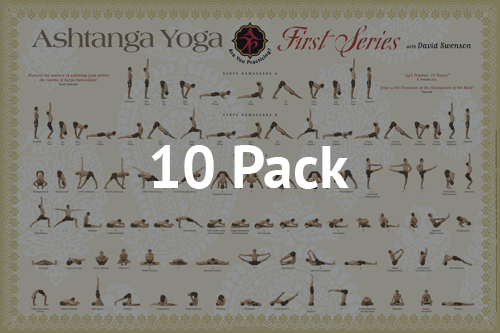 First Series Poster (Pack of 10) - Ashtanga Yoga Productions
