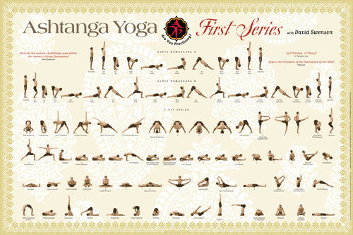 First Series POSTER - Ashtanga Yoga Productions