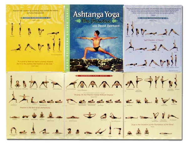 First Series PRACTICE CARD - Ashtanga Yoga Productions