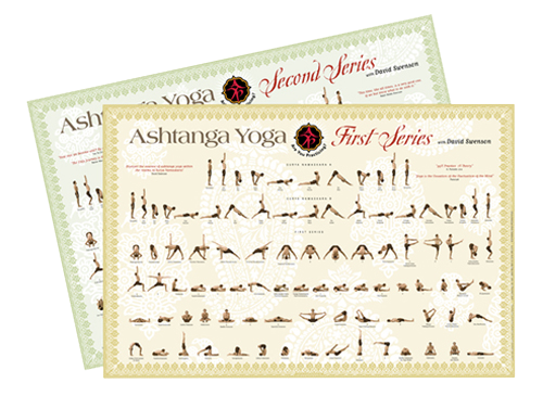 POSTER PACKAGE First & Second Series - Ashtanga Yoga Productions