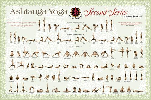 Second Series POSTER - Ashtanga Yoga Productions