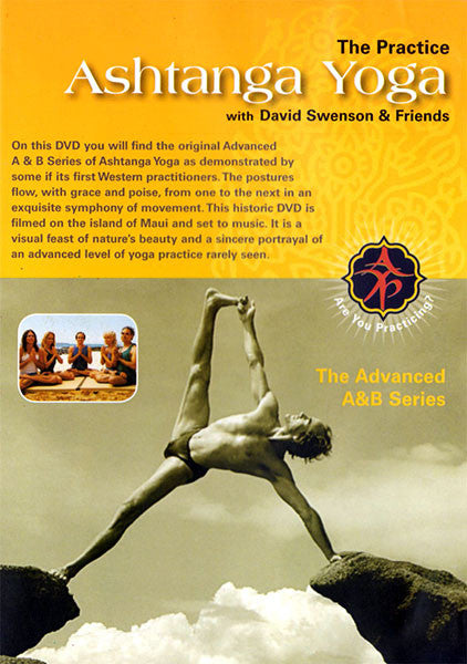 Original Advanced A & B 3rd,4th,5th, & 6th Series DVD - Ashtanga Yoga Productions