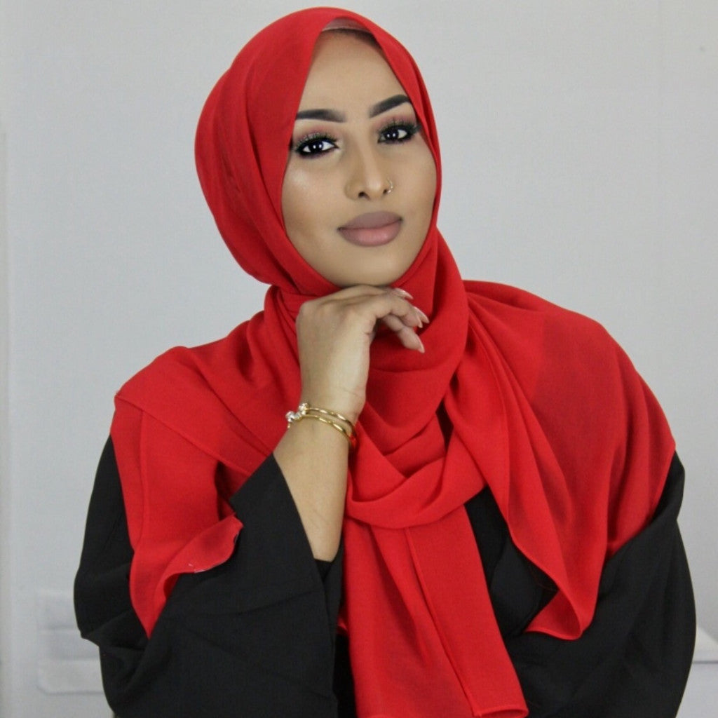 The Red Carpet Georgette Hijab